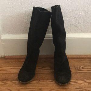 Steve Madden knee high suede boots